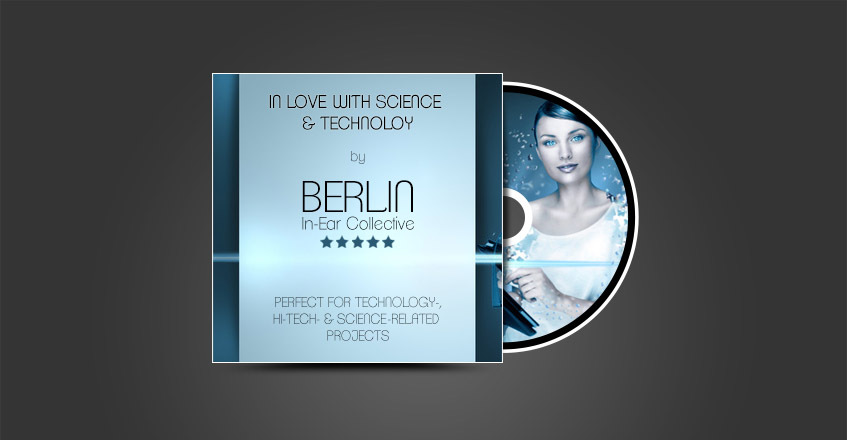 In Love with Science & Technology Song Cover | Royalty-Free High Tech Corporate Music by berlininear